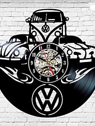 cheap -Volkswagen car unique vinyl record wall clock fan gift home decor room art