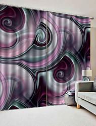 Недорогие -фэнтези цвет доктрина украсить сильная прочность занавес ткань для дома предметы интерьера влагостойкие литьевые звуконепроницаемые окна занавес