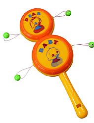 cheap -Tambourine Sound Wooden Unisex Kids Baby Graduation Gifts Toy Gift