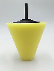 cheap -Cone Shaped Car Burnishing Foam Sponge Polishing Tool Car Wheel Cleaning Sponge
