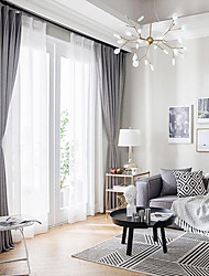 cheap -Privacy Two Panels Curtain Living Room   Curtains