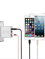 cheap -Portable Quick Charge 3.0 9V/12V USB Charger with 3-Port