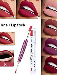abordables -rouge à lèvres sexy imperméable durable mat sans contact rouge à lèvres multi-fonctions cosmétiques pour les lèvres