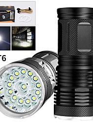 cheap -EX14 LED Flashlights / Torch Waterproof 11200 lm LED LED 14 Emitters Manual 3 Mode Waterproof Professional Anti-Shock Easy Carrying Durable Camping / Hiking / Caving Police / Military Cycling / Bike