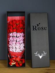 Недорогие -Искусственные цветы Недвижимость сенсорный Свадьба Букет Букеты на стол Букет 1