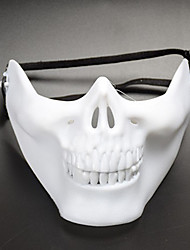 cheap -Mask Halloween Mask Inspired by Skeleton / Skull Scary Movie Black White Halloween Carnival Adults' Men's Women's