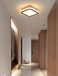 cheap -1-Light 20 cm LED Flush Mount Lights Metal Linear Painted Finishes LED / Modern 110-120V / 220-240V