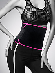 cheap -Women And Men Adjustable Waist Support Belt Neoprene Faja Lumbar Back Sweat Belt Fitness Belt Waist Trainer