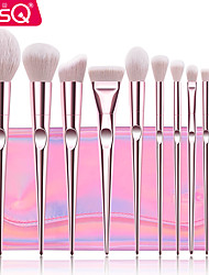 cheap -Professional Makeup Brushes 10pcs Full Coverage Plastic for Makeup Brush