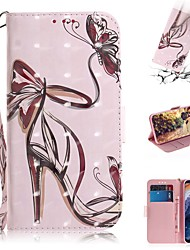 cheap -Case For Nokia Nokia 9 PureView Wallet / Card Holder / Shockproof Full Body Cases 3D Cartoon PU Leather
