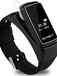 Недорогие -Смарт Часы Цифровой Современный Спортивные силиконовый 30 m Защита от влаги Пульсомер Bluetooth Цифровой На каждый день На открытом воздухе - Черный Белый Золотой