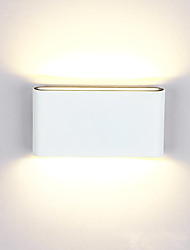 cheap -Outdoor Modern Contemporary Outdoor Wall Lights Outdoor Lights Garden Metal Wall Light IP65 Generic 12 W