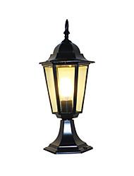 Недорогие -бра бра стеклянный абажур ретро ретро наружные настенные светильники сад / наружный алюминиевый настенный светильник
