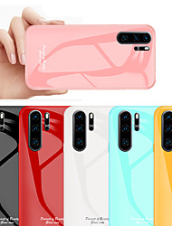 cheap -Tempered Glass Phone Case for Huawei P30 Pro / P30 / P30 Lite Protective Mobile Phone Cover Cases for Huawei P20 Pro / P20 Lite / P20