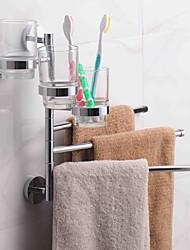 cheap -Towel Bar Creative Contemporary Brass 1pc - Bathroom Wall Mounted