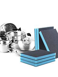 cheap -Kitchen Cleaning Supplies Sponge Sponge & Scouring Pad Tools Durable 10pcs