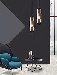 cheap -1-Light Glass Pendant Light Modern Simple Pendant Lamp Black Nordic Simplicity Hanging Light Glass Shade AdjustablePendant Light Fixtures for Corridor Bar