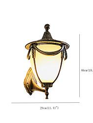 cheap -Outdoor Indoor Waterproof Wall Sconce Lighting Aluminum Glass Wall Lamp for Courtyard Front Door Garden Villa Lighting