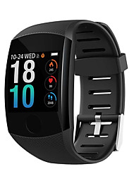 cheap -Q11 Smart Watch Waterproof Fitness Bracelet Big Touch Screen OLED Message Heart Rate Time Smartband Activity Tracker Wristband