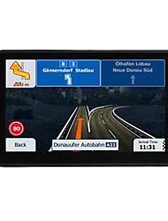 Недорогие -7-дюймовый 710 GPS 256 м 8g Windows CE 6.0 Автомобильный GPS-навигатор Авто с сенсорным экраном GPS-навигатор аудио-видео плеер