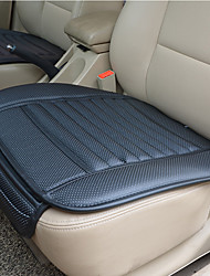 cheap -Breathable PU Leather Bamboo Charcoal Car Interior Seat Cover Cushion Pad Auto Chair Cushion Universal Car-styling Supports  for Auto Supplies Office Chair