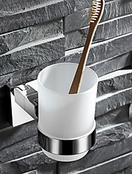 cheap -Toothbrush Holder Creative Contemporary Stainless Steel 1pc - Bathroom Wall Mounted
