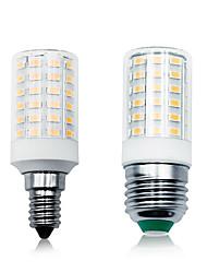 cheap -LOENDE 5 Pack 7W LED Corn Lights 100-265V 900LM E27 E14 66LEDs LED Lamp SMD5730 White/Warm White