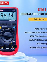 Недорогие -цифровой мультиметр uni-t ut61a высоконадежный профессиональный электрический тестер cd подсветка&данные держат мультитестер