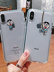 cheap -Case For Apple iPhone 11 / iPhone 11 Pro / iPhone 11 Pro Max Pattern Pouch Bag Cartoon Soft TPU
