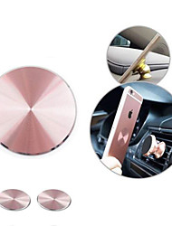 cheap -2 Pcs Metal Plate Adhesive Sticker Replace for Magnetic Car Mount Phone Holder