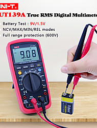 Недорогие -Цифровой мультиметр uni-t ut139a 2000 отсчет истинное среднеквадратичное значение переменного тока постоянного тока вольтметр амперметр тестер сопротивления омметра нкв / зуммер непрерывности