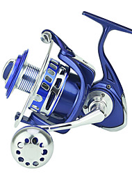 cheap -Fishing Reel Spinning Reel 4.7:1 Gear Ratio+13 Ball Bearings Hand Orientation Exchangable Sea Fishing / Spinning / Trolling & Boat Fishing