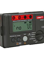 cheap -UNI T UT502A 1000V 2500V megger insulation tester megohmmeter multimetro ohm tester insInsulation Resistance Tester multimeter