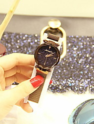 cheap -Women's Dress Watch Automatic self-winding Stainless Steel New Design Analog Classic - Black Purple Gold