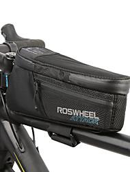 cheap -1.5 L Bike Frame Bag Top Tube Bike Rack Bag Waterproof Portable Waterproof Zipper Bike Bag TPU 600D Ripstop Waterproof Material Bicycle Bag Cycle Bag Cycling Outdoor Exercise Bike / Bicycle