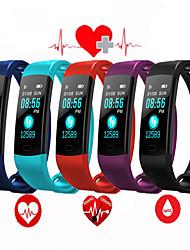 cheap -EC01 Smart Bracelet Bluetooth Color Screen Heart Rate Monitor Blood Pressure Measurement Fitness Tracker Waterproof Smart Watch