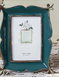 cheap -Photo Frame Retro Distress Iris Pattern Picture Frame Home Decor