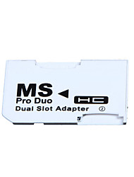 cheap -2 microSD/micro SDHC Cards Adapter Micro SD TF to Memory Stick MS Pro Duo
