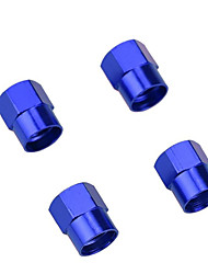 cheap -4 Pcs Colorful Car Tire Valve Cap Wheel Hub Valve Cover Auto Accessories