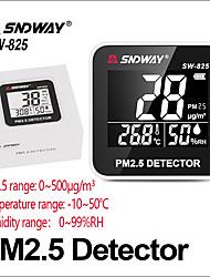 Недорогие -sndway газоанализаторы детектор газа pm 2.5 монитор качества воздуха pm2.5 детектор электрический sw-825 жк-экран цифровой детектор газа