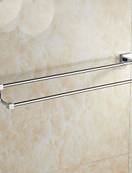 cheap -Towel Bar Creative Modern Brass 1pc - Bathroom Double Wall Mounted