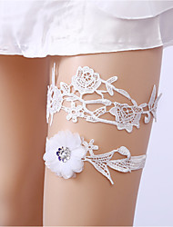 cheap -Garters Wedding Bridal Halloween Christmas Polyester Jacquard For Bride Cosplay Halloween Valentine's Day Women's Costume Jewelry Fashion Jewelry
