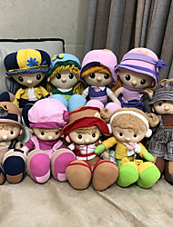 cheap -Stuffed Animal Girl Doll Plush Doll Plush Toys Plush Dolls Stuffed Animal Plush Toy Cute Child Safe Non Toxic Lovely Large Size Cloth Plush 35cm Imaginative Play, Stocking, Great Birthday Gifts Party