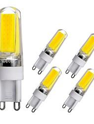 cheap -5pcs G9 Base LED Bulbs Dimmable LED Bi-pin Lights 3W COB LED Light For Home Office Halls Chandelier AC110V AC220V Warm White White Natural White