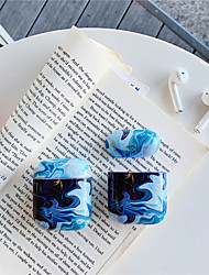 cheap -AirPods Case  PC hard Solid Color Lovely Pattern  Portable For AirPods1 AirPods2 (AirPods Charging Case Not Included)