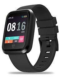Недорогие -zeblaze crystal 2 smartwatch 2.5d 1.3 дюймовый цветной экран стекло гориллы ip67 водонепроницаемый монитор сердечного ритма мода умные часы