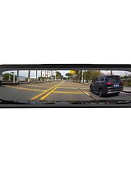 abordables -ziqiao h19 1296p streaming médias vue arrière miroir dash cam enregistreur vidéo enregistreur 9,66 pouces ips vision nocturne inversion image voiture caméra dvr