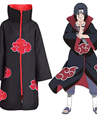 cheap -Inspired by Naruto Akatsuki Anime Cosplay Costumes Japanese Cosplay Suits Anime Long Sleeve Cloak For Men's