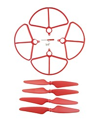 cheap -Holy Stone HS700 1 set Propeller Guards / Propellers RC Quadcopters RC Quadcopters ABS+PC Removable / Easy to Install / Durable