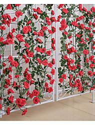 Недорогие -Искусственные цветы Современный современный Цветы на стену 1 / Одноместный Ваза